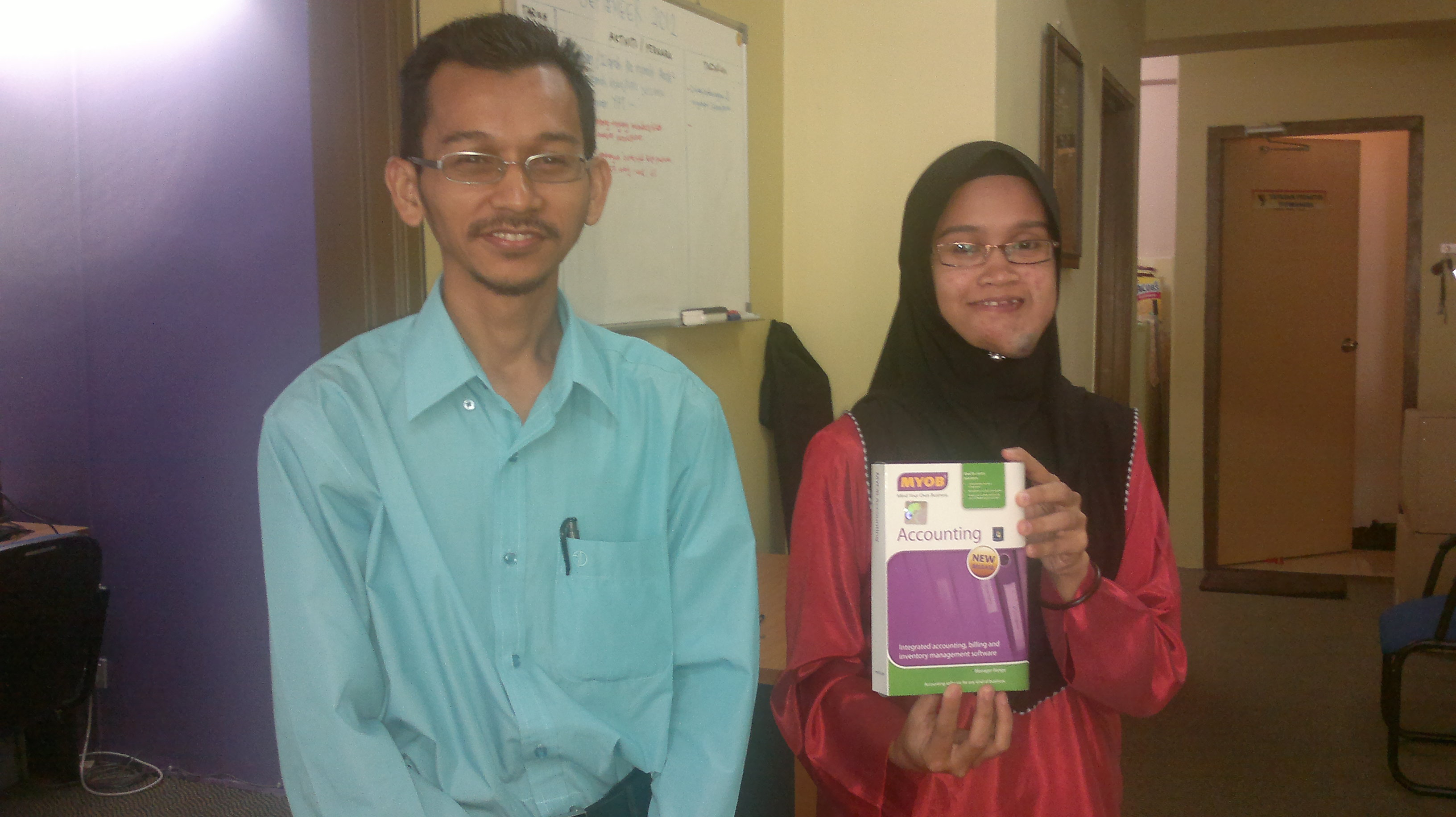 Smart Secretary Packages, MYOB Accounting Software – Yayasan Prihatin Titiwangsa